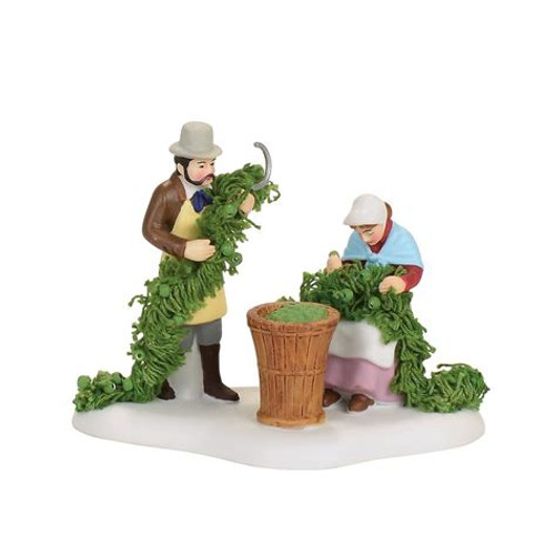 Department 56 - Dickens Village  Accesory- Oast House Hop Harvest