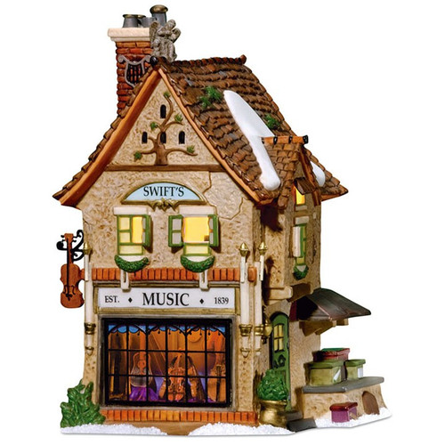 Department 56 - Dickens Village -Swift's Stringed Instruments