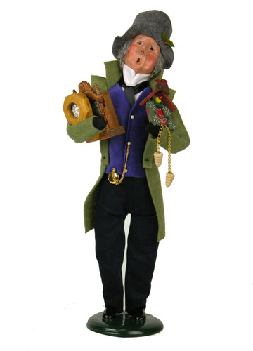 Byers' Choice - Clockmaker Caroler