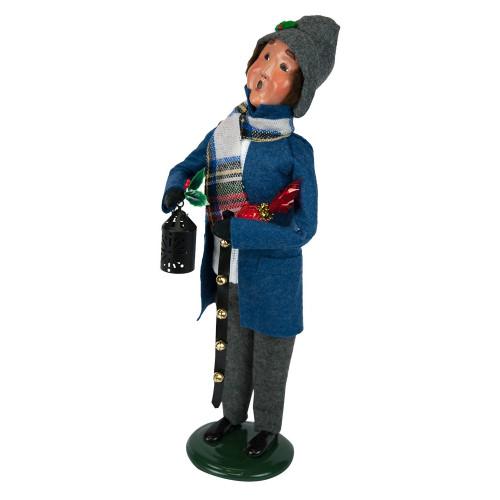 Byers' Choice - Clark Man Blue Shopper Caroler 2018