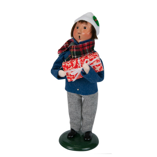Byers' Choice - Clark Boy Blue Shopper Caroler 2018