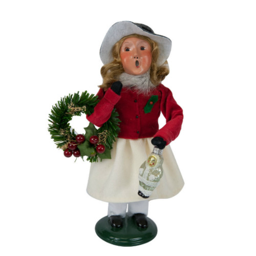 Byers' Choice - Franklin Girl Shopper Caroler 2018