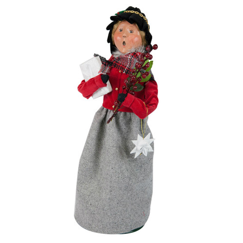 Byers' Choice - Franklin Woman Shopper Caroler 2018
