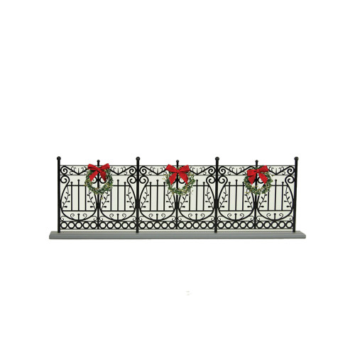 Byers' Choice - Wrought Iron Fence