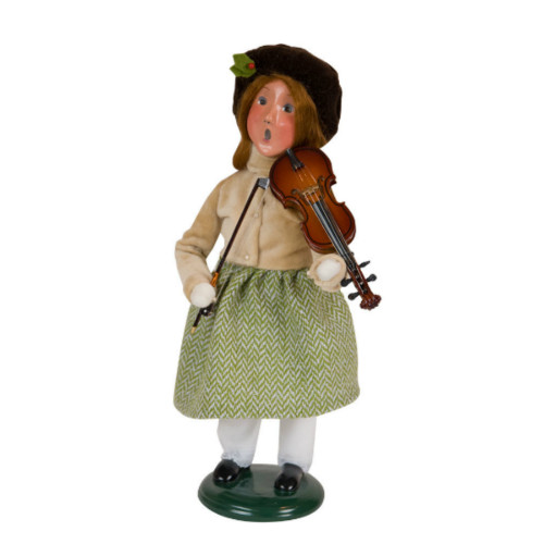 Byers' Choice - Musical Girl - Violin Caroler