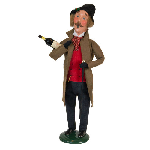Byers' Choice - Victorian Man with Wine Caroler 2018