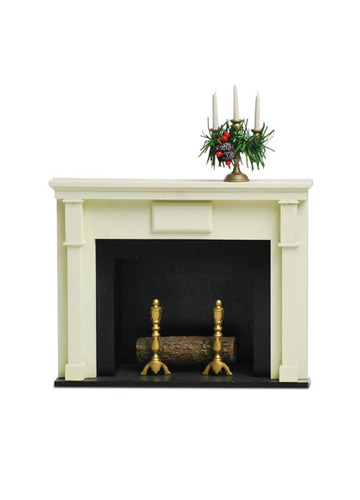 Byers' Choice - Fireplace With Candles