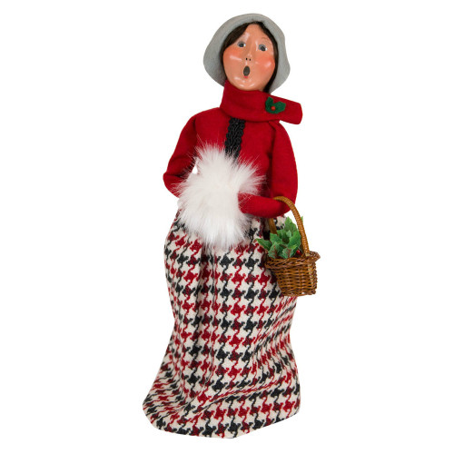 Byers' Choice - Evergreen Woman Caroler 2018