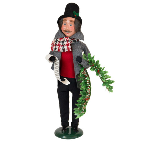 Byers' Choice - Evergreen Man Caroler 2018