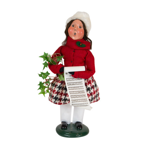 Byers' Choice - Evergreen Girl Caroler  2018