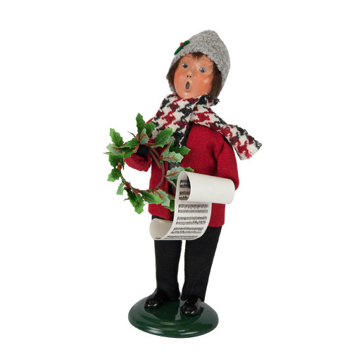 Byers' Choice - Evergreen Boy Caroler 2018