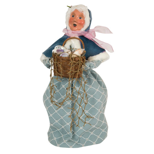Byers' Choice - Nautical Mrs. Claus Caroler 2018