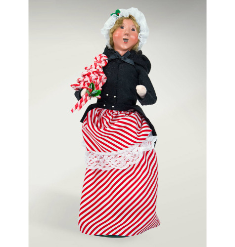 Byers' Choice - Candy Cane Woman 2018