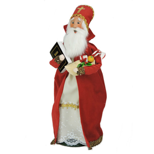 Byers' Choice - Saint Nicholas Caroler 2018