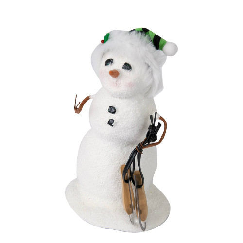 Byers' Choice - Small Snowman with Skates 2018