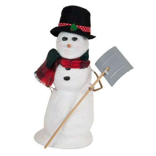 Byers' Choice - Large Snowman with Shovel 2018