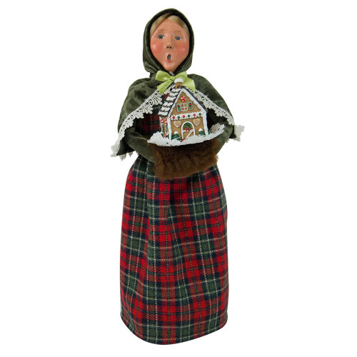 Byers' Choice - Gingerbread Woman Caroler 2018