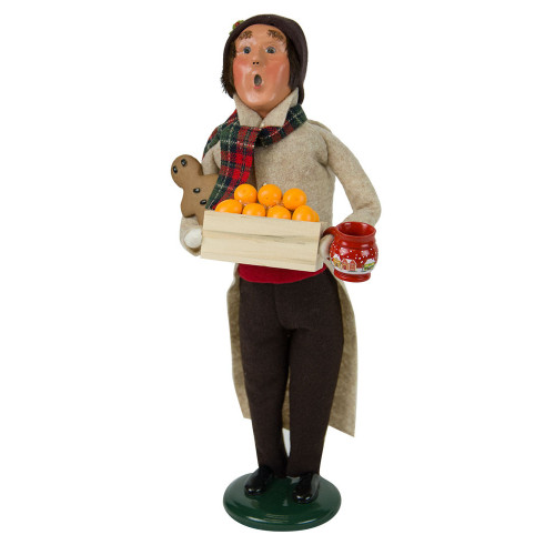 Byers' Choice - Gingerbread Man Caroler 2018