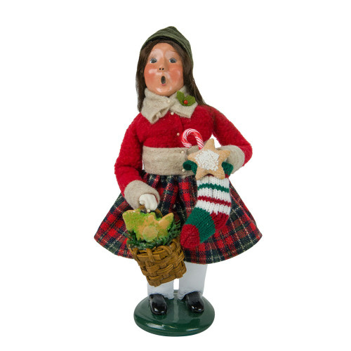 Byers' Choice - Gingerbread Girl Caroler  2018