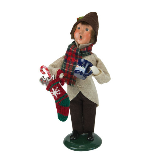 Byers' Choice - Gingerbread Boy Caroler 2018