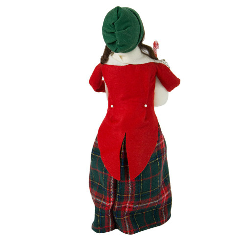 Byers' Choice - Glass Ornament Woman Caroler 2018