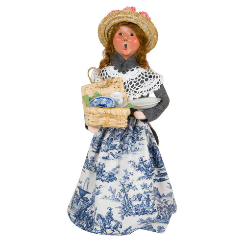 Byers' Choice - Woman Selling China Caroler 2018