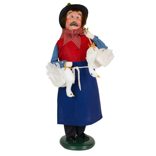 Cries of London Crier Selling Goose Caroler front image