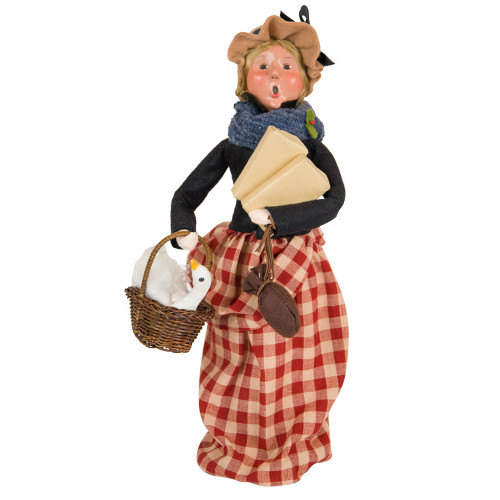 Cries of London Woman with Goose Caroler front image