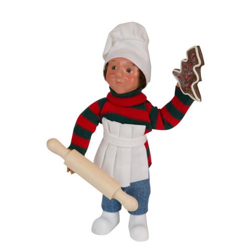 Byers' Choice Toodler Boy Baking Front Image