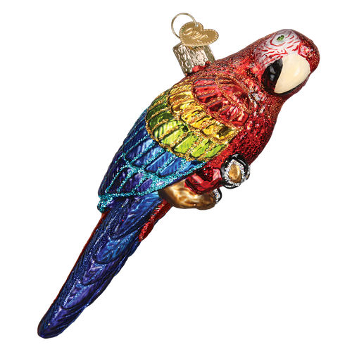 Old World Christmas- Tropical Parrot Ornament 2018