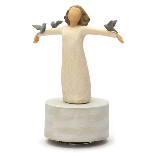 Willow Tree - Happiness Musical Figurine
