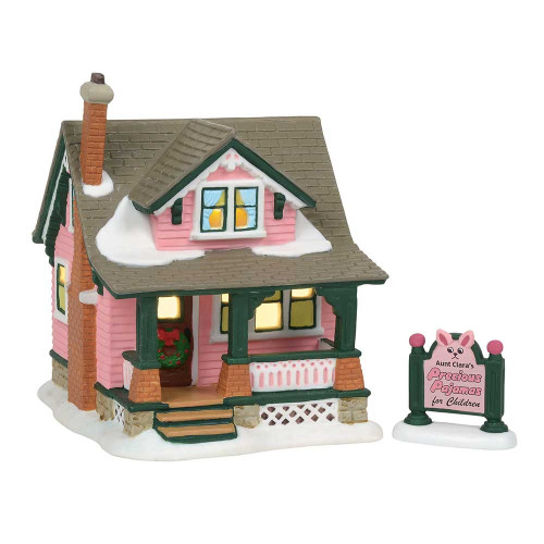 Department 56  - Christmas Story Village -Aunt Clara's House 2018