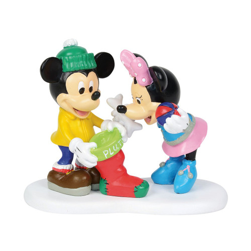 Department 56- Mickey Village Accessory-Christmas Treats for Pluto 2018