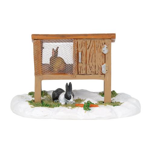 Department 56  - New England Village- Mistletoe Farm Rabbit Hutch 2018
