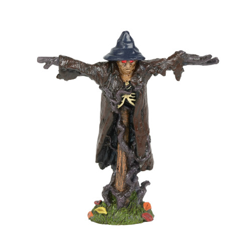 Department 56 - Halloween Village- Light Up Sinister Scarecrow 2018