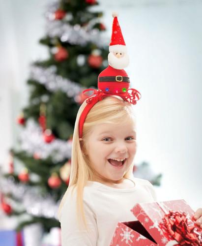 LED Santa Headband