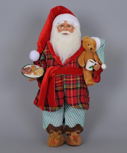 Karen Didion - Milk Cookies Santa