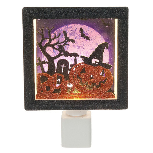 Night Light - Jack-O-Lantern Shadow Box Night Light