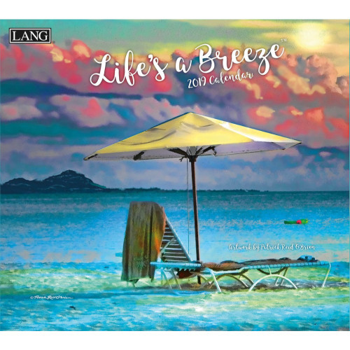 Life's A Breeze 2019 Lang Wall Calendar