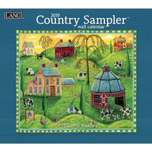 Country Sampler 2019 Lang Wall Calendar