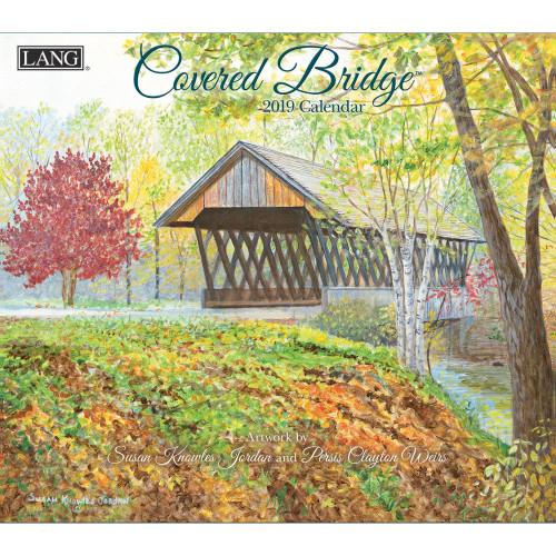 Covered Bridge 2019 Lang Wall Calendar