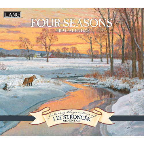 Four Seasons 2019 Lang Wall Calendar