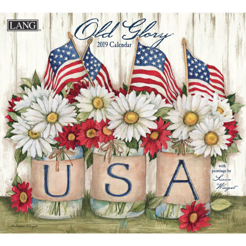 Old Glory 2019 Lang Wall Calendar