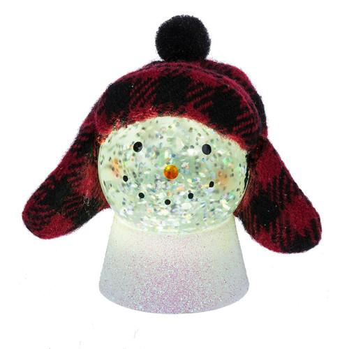 Mini Hipster Snowman LED Shimmer