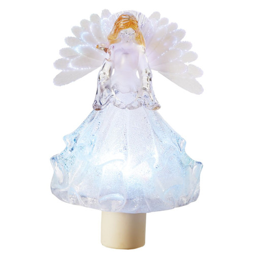 Fiber Optic Angel Night Light 18