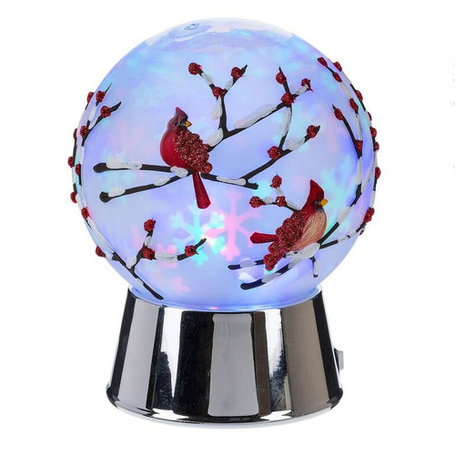 Cardinal Globe Night Light 18