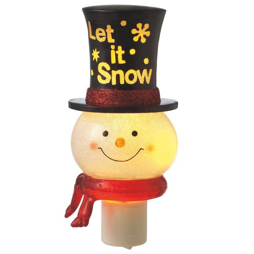 Snowman 'Let It Snow' Night Light