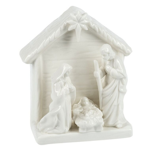 Holy Family Clay Scene