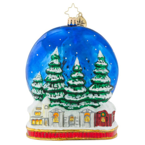 Christopher Radko - Midnight Arrival Ornament 2018