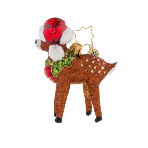 Christopher Radko - Oh, Deer Me! Little Gem Ornament
